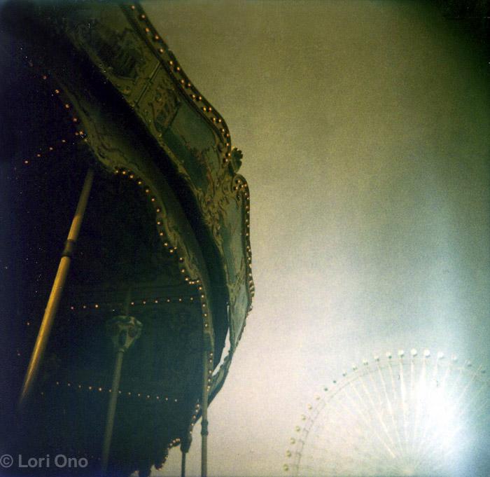 Holga and Instant Film Images from Yokohama Minato Mirai area.